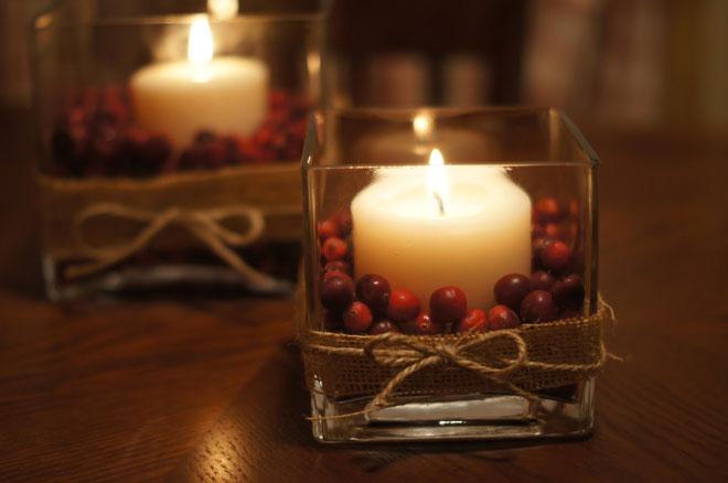 craneberry decoration