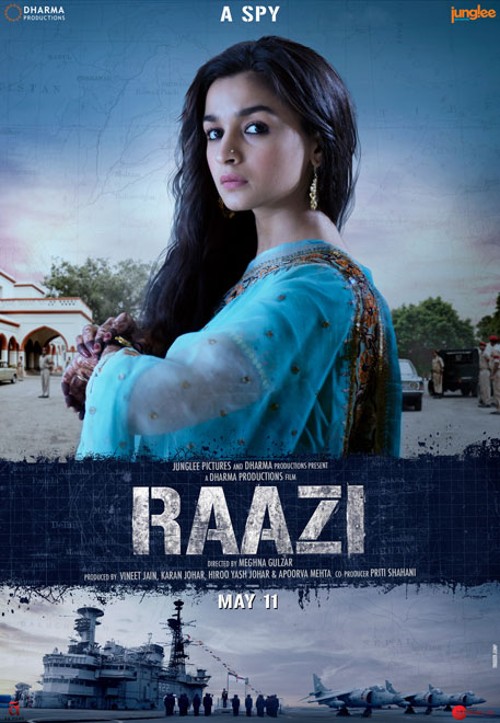 Alia Bhatt interview on Raazi