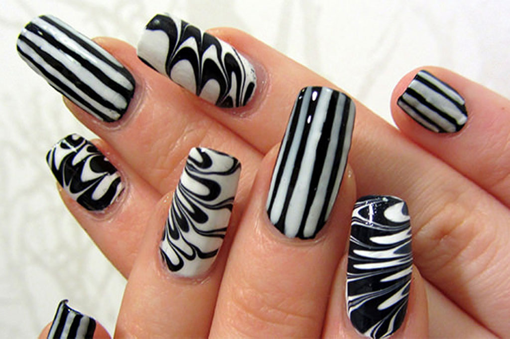 Cool Nail Art Design Grihshobha