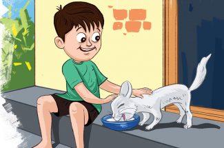 hindi story for kids chhotu ko mila ghar