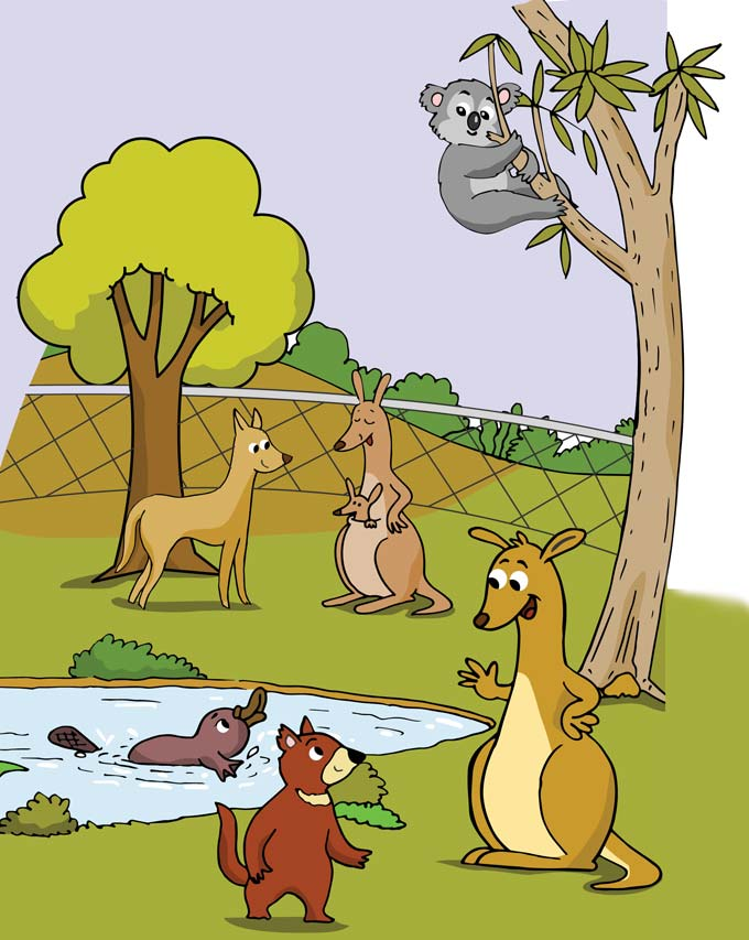 hindi story for kids kadumba kangaroo