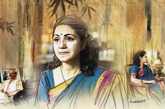 hindi story nayaa shitij (last part)