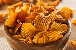 food and recipe homemade potato chips