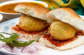 food and recipe breakfast recipes nutritious vada pao