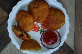 food and recipe banana kachaudi