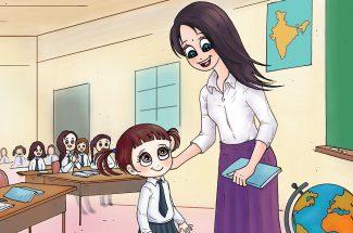 hindi story for kids kaise karein madad