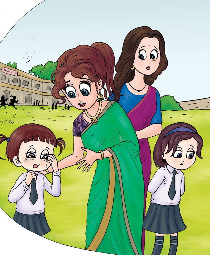 hindi story for kids kaise karein madad