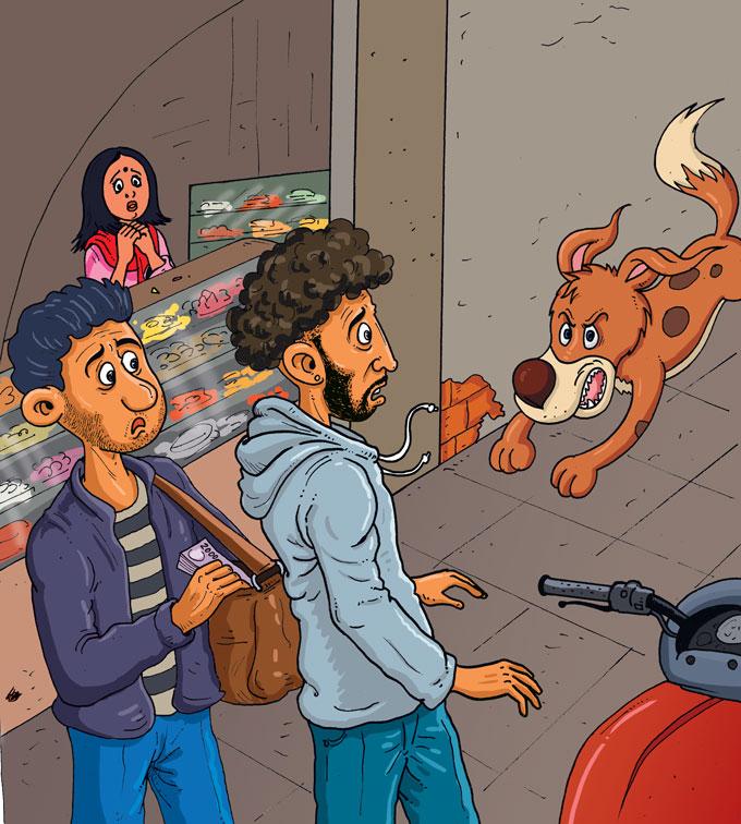 hindi story for kids barki ki bahaaduri