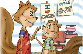 hindi story for kids seenu and a cycle