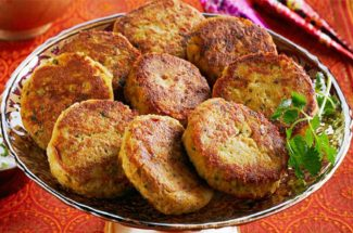 food and recipe in hindi shami kabab