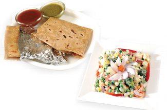 cookery-recipe-in-hindi-burger-paratha-and-veg-chat