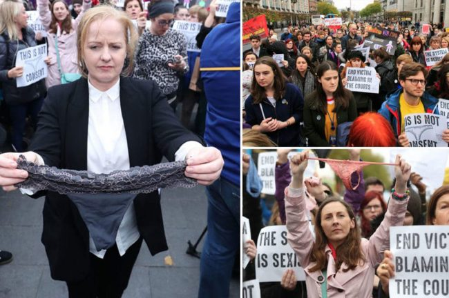 protest in ireland