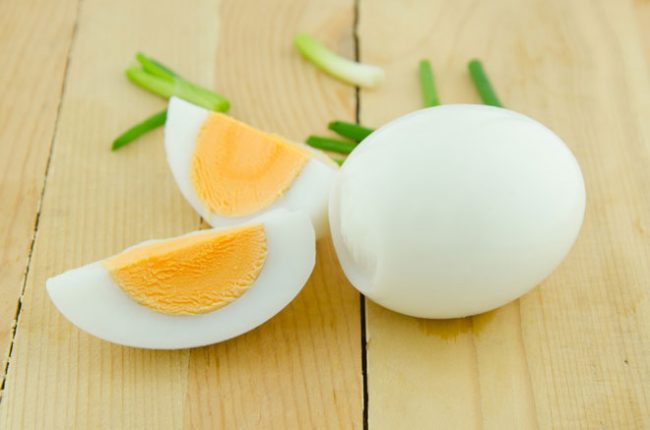 take boiled eggs to loose weight