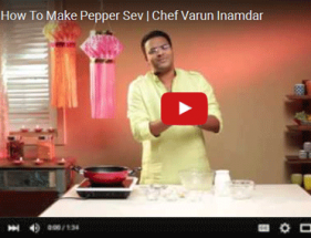 How To Make Pepper Sev | Chef Varun Inamdar
