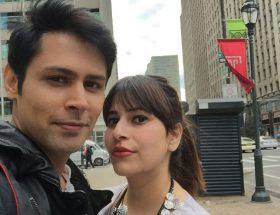 वेलेनटाइन डे पर खास : पत्नी अनंतिका के साथ सुदीप साहिर