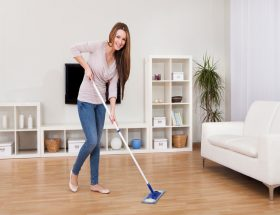 घर साफ रखना